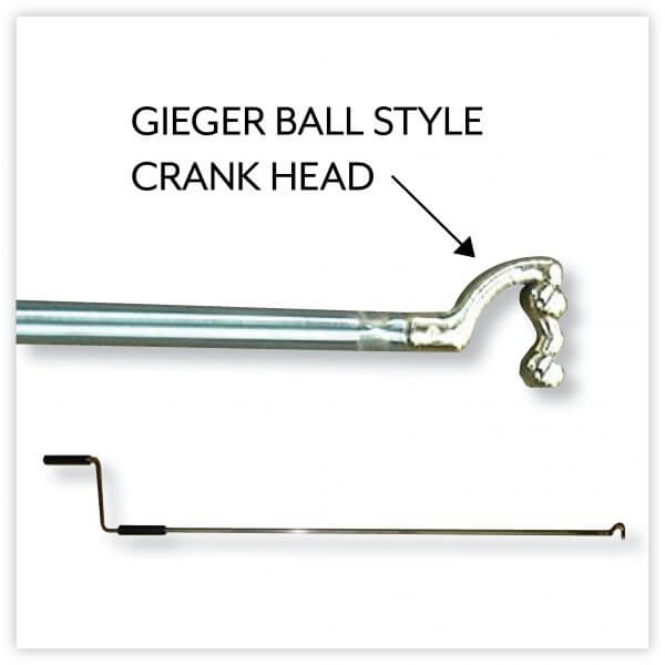 Suncover Awning Crank Handle - Ball Style