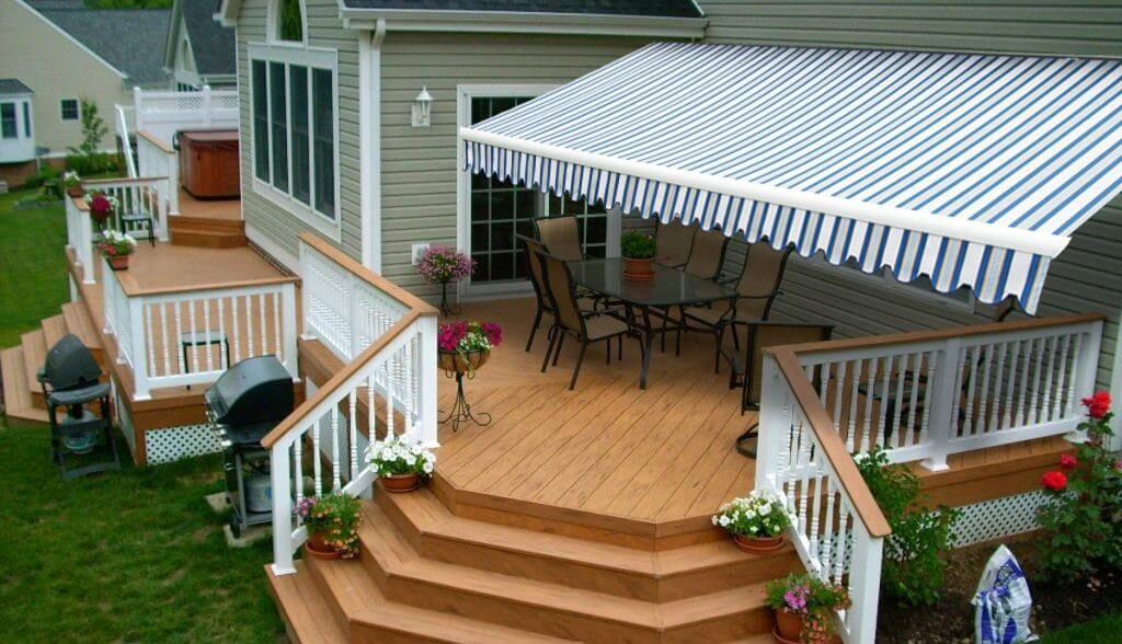 Deck Photo with Awning