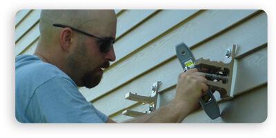 awning bracket install