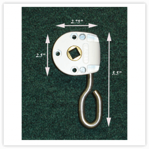 Retractable Awning 6:1 Manual Worm Gear